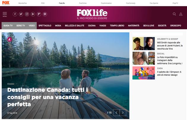 A Sky Media la raccolta web di Fox Italia