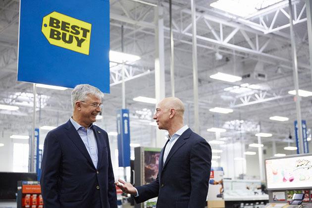 Accordo commerciale tra Amazon e Best Buy