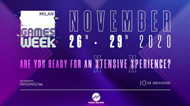 Al via la prima edizione digitale di Milan Games Week