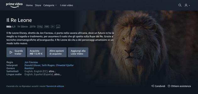 Amazon: anche in Italia Prime Video Store