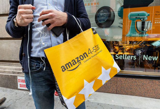 Amazon inaugura il primo negozio fisico in Italia?
