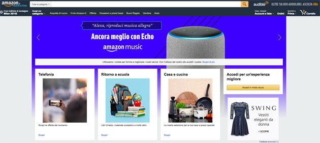 Amazon, l'Antitrust Ue apre indagine