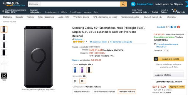 Amazon.it, le top ten high tech di Marzo