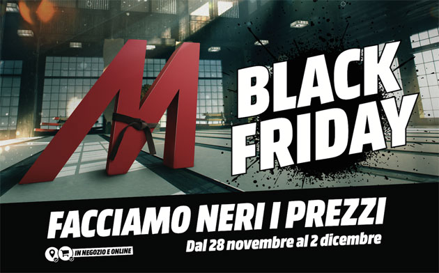 Anche MediaWorld ha il suo Black Friday