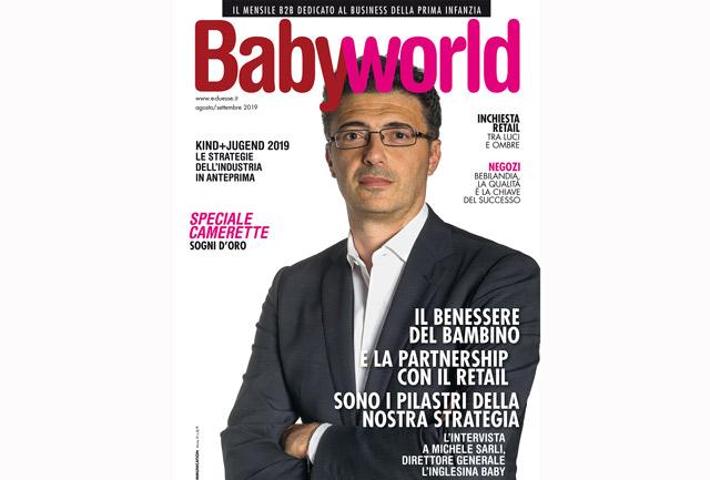Babyworld di agosto/settembre è disponibile in digitale