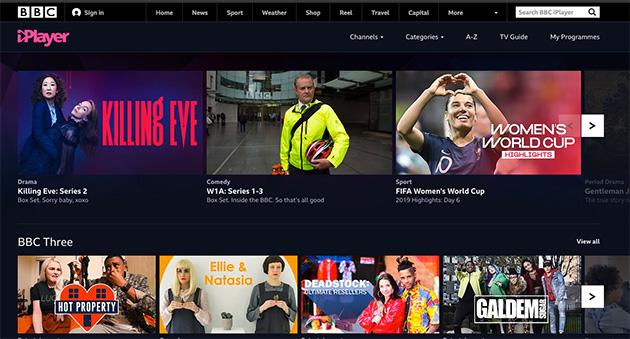 Bbc iPlayer: sì all'estensione della window
