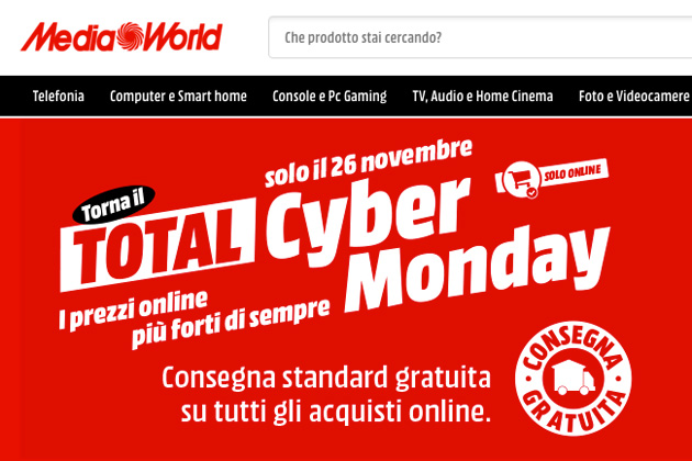 Black Friday da record per MediaWorld online e offline