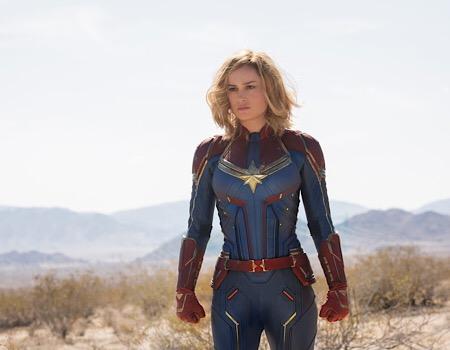 Box office 6 marzo, irrompe Captain Marvel