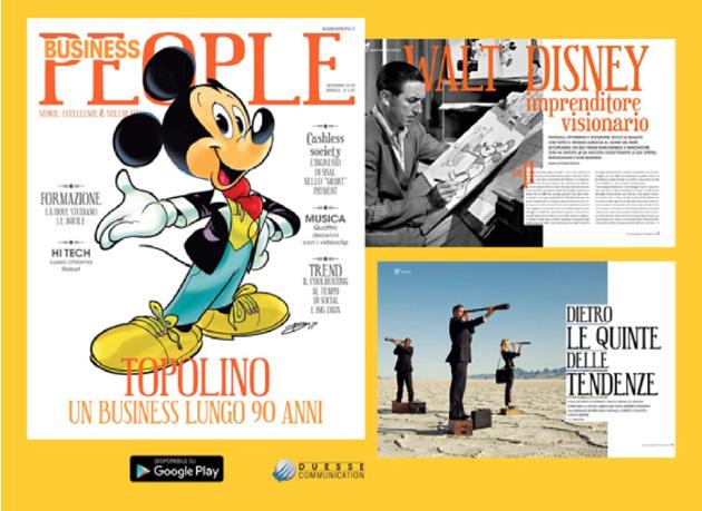 Business People celebra i 90 anni di Topolino