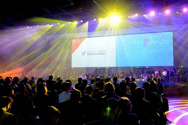 Business People guida 'Artificial Intelligence e Transformation' al Sas Forum