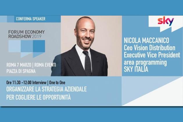 Business People intervista Nicola Maccanico: appuntamento il 7 marzo a Roma