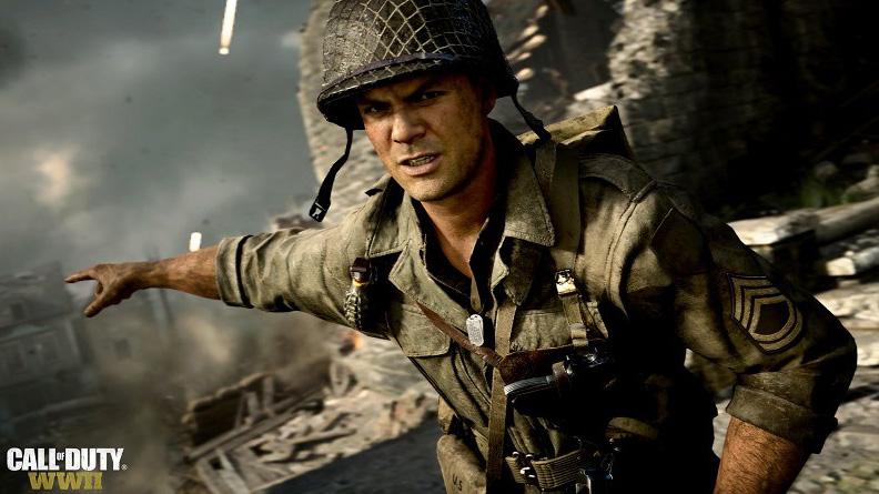 Call Of Duty: WWII in vetta alle classifiche di vendita