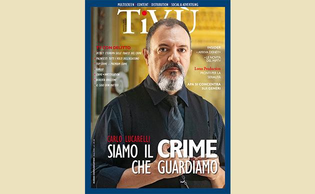 Carlo Lucarelli protagonista del nuovo Tivù