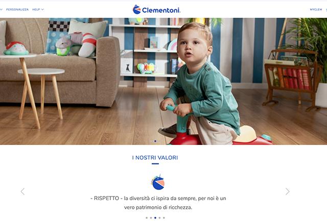 Clementoni rinnova il sito e lancia lo shop online