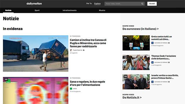 Dailymotion: appello contro Mediaset