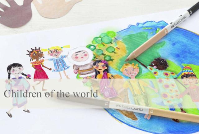 "Faber-Castell lancia ""Children of The World"""