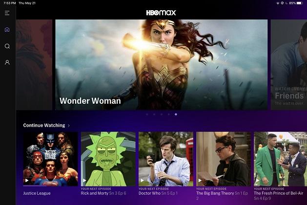 Hbo Max cresce grazie a Wonder Woman