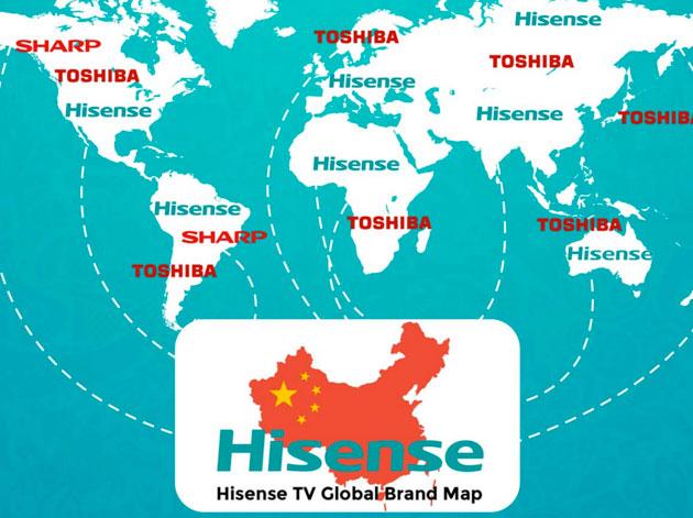 Hisense: conclusa l'acquisizione dei Tv Toshiba