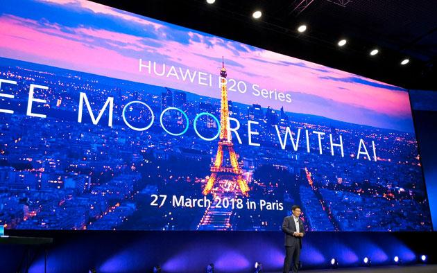 Huawei, la scalata del podio passa dai P20