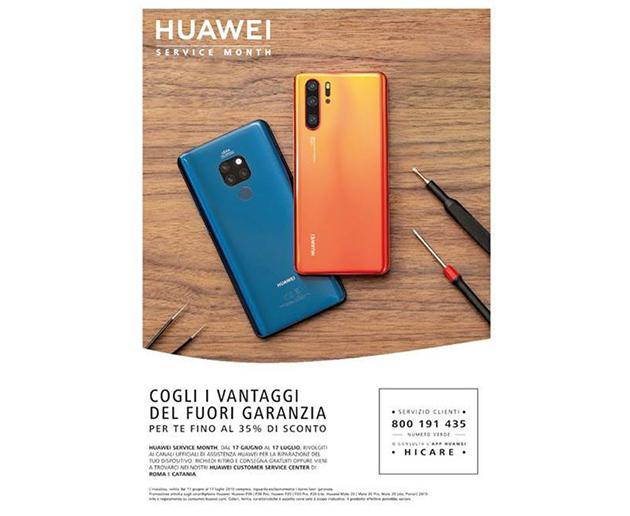 Huawei potenzia il post vendita