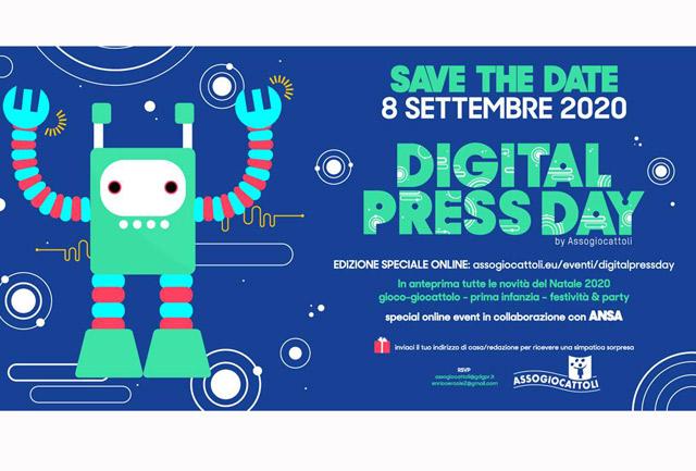 Il Press day di Assogiocattoli diventa digital