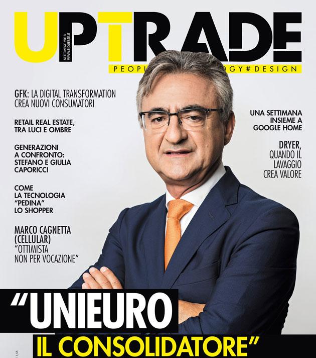"""""""Il consolidatore"""" in cover su UpTrade settembre"""
