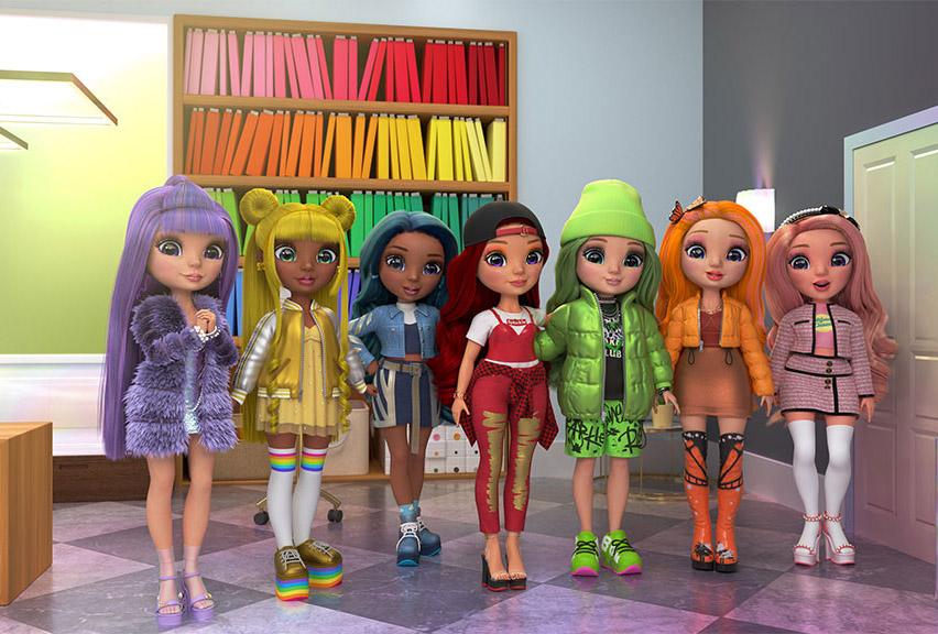 Il mondo colorato di Rainbow High prende vita in una nuova web serie