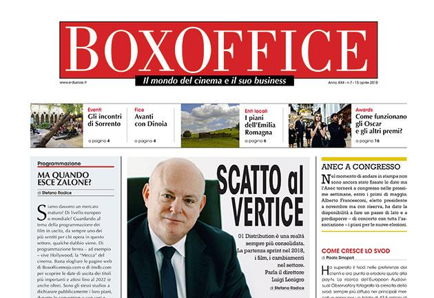 Il nuovo Box Office è online