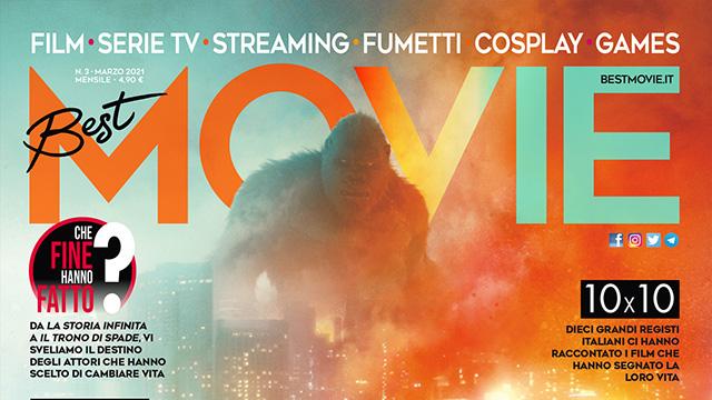 In esclusiva su Best Movie di marzo la set visit di Godzilla vs. Kong