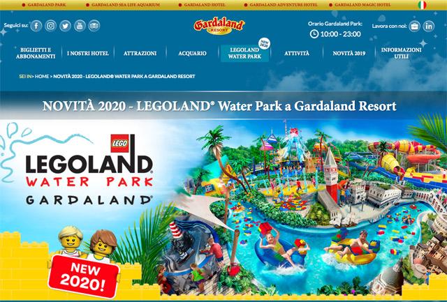 LEGOLAND Water Park aprirà a Gardaland