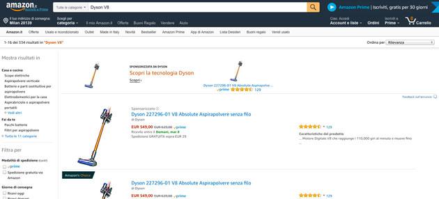 La Top20 di Amazon del ped