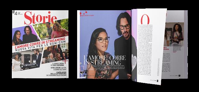 Le nuove rom com in copertina su Storie