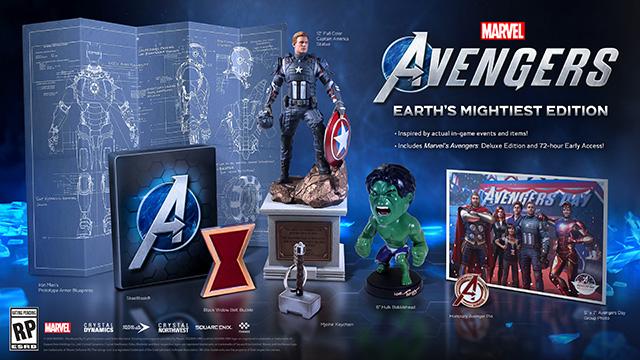 Marvel's Avengers: tutti i dettagli dell'edizione Deluxe