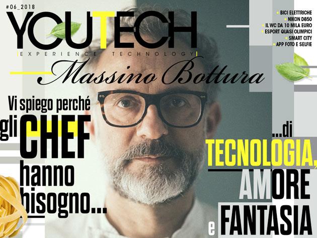 Massimo Bottura protagonista della cover di YouTech