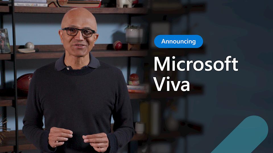 Microsoft presenta Microsoft Viva