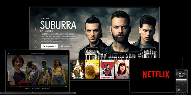 Netflix rallenta