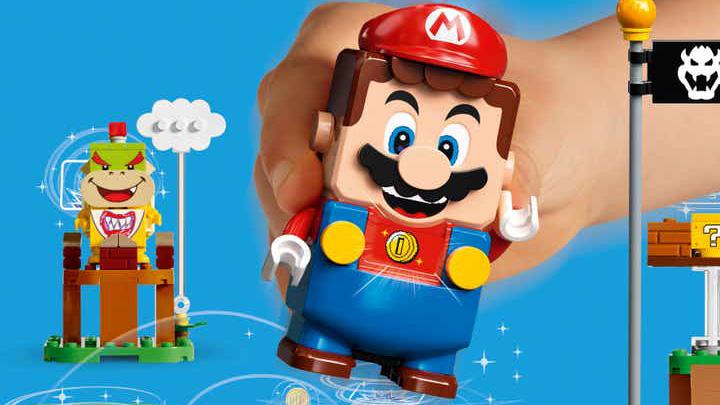 Nintendo svela la nuova linea di prodotti LEGO