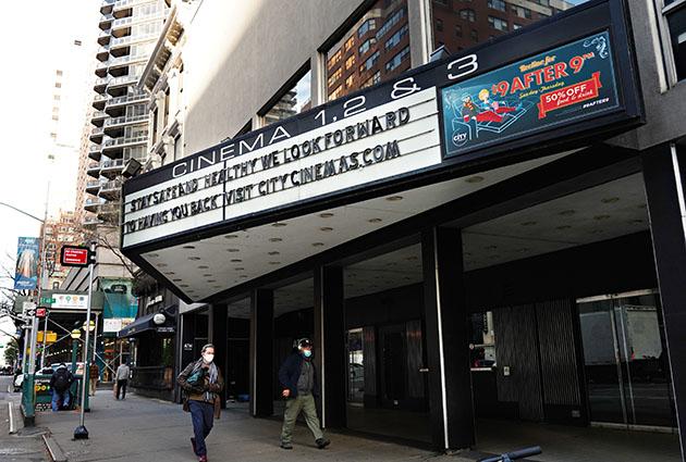 Nord America, 700 cinema richiudono i battenti