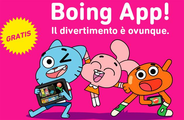 Oltre 1mln di download per la Boing App