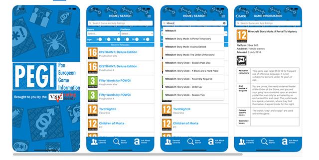 PEGI lancia un'App sulla classificazione dei videogiochi