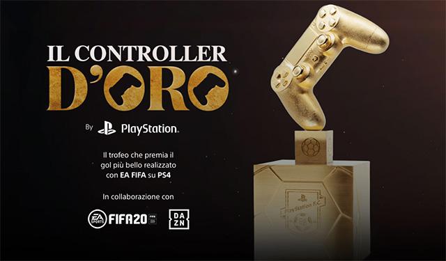 PlayStation: al via il concorso Controller d'Oro