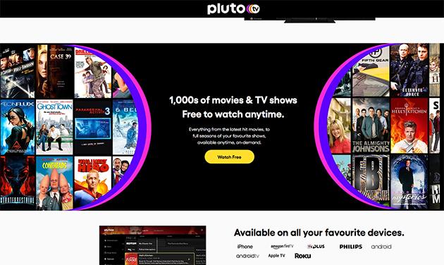 Pluto Tv presto in Italia
