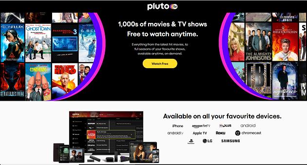 Pluto Tv si accende in Francia