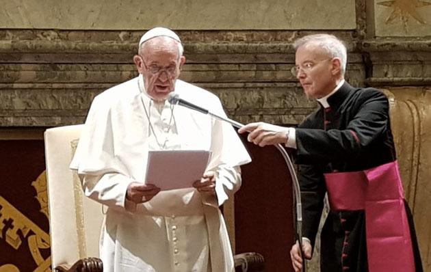 SDC Days, il Papa parla al mondo del cinema