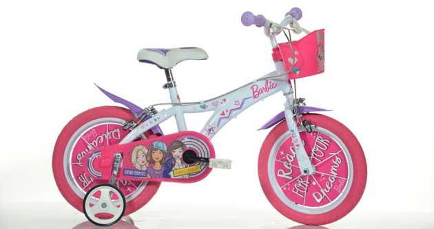 Sfreccia con Barbie By Dino Bikes