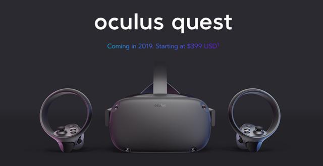 Svelato Oculus Quest
