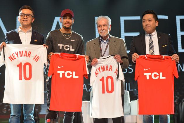 TCL: al via la campagna di comunicazione globale 2018 con Neymar Jr.