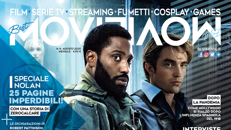 """Tenet Special Edition: su Best Movie di agosto Zerocalcare """"omaggia"""" Nolan"""