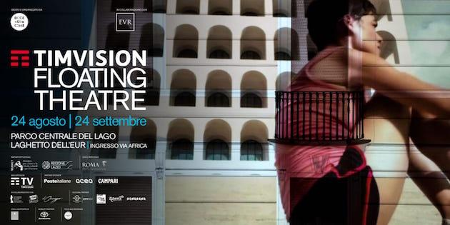 Timvision Floating Theatre, Oliver Stone all'inaugurazione
