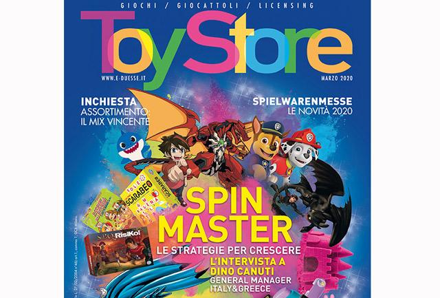 Toy Store di marzo è disponibile in digitale